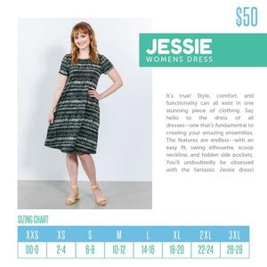 LuLaRoe Dresses - Lularoe XXS Jesse Dress